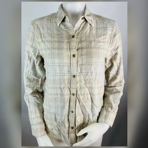 Wilfred Free Plaid Button Front Shirt